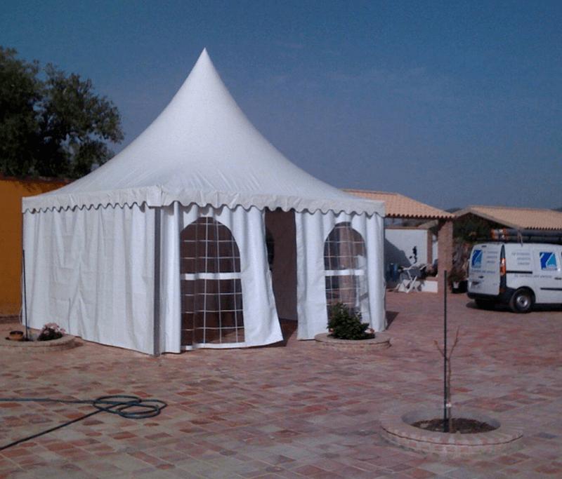 Fabricación e instalación de jaimas